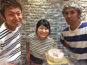 VANILLA【バニラ】大宮店スタッフの誕生日