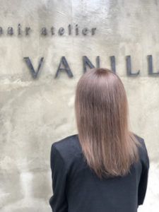 VANILLA【バニラ】大宮店 セミロング和漢カラー