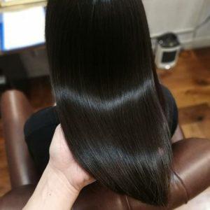 綺麗な艶髪