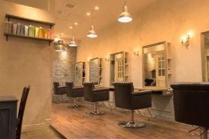 美容室VANILLA大宮の店内